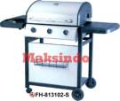 Jual Mesin Barbeku Gas Barbeque With Side Burner di Bekasi