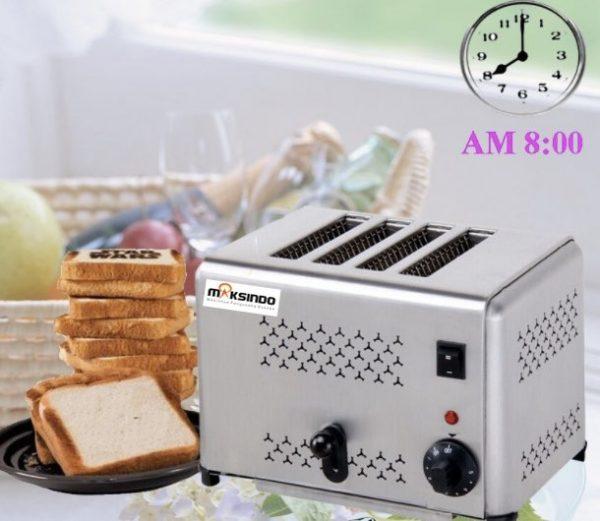 Jual Mesin Bread Toaster (Roti Bakar-D04) di Bekasi