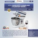 Jual Mesin Mixer Roti dan Kue Model Planetary di Bekasi