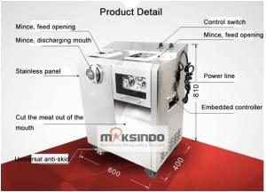Mesin Pengiris dan Penggiling Daging Standing (Kombinasi) 4 mesinbekasi