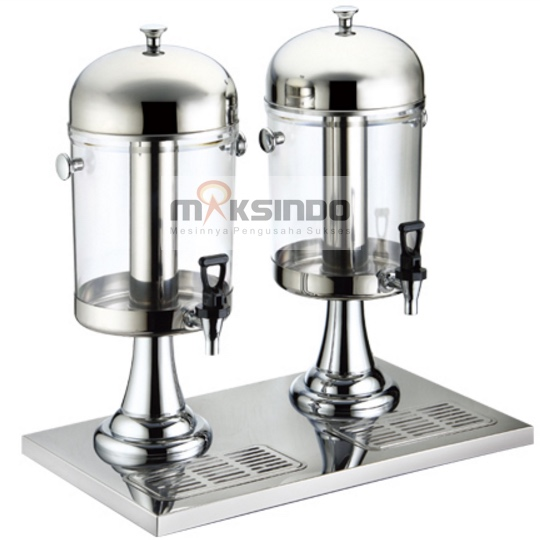 Jual Juice Dispenser / Buffet Dispenser 2 Tabung di Bekasi
