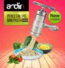 Jual Alat Cetak Mie dan Pasta Manual Stainless (ARDIN) di Bekasi