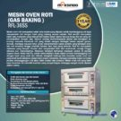 Jual Mesin Oven Roti Gas 6 Loyang (MKS-RS36) di Bekasi
