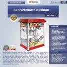 Jual Mesin Popcorn Untuk Membuat Popcorn di Bekasi