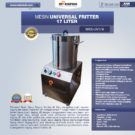 Jual Universal Fritter 17 Liter (MKS-UV17A) di Bekasi