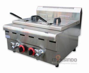 Jual Counter Top 2-Tank 2-Basket Gas Fryer di Bekasi