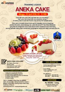 Training Usaha Aneka Cake, 29 April 2018