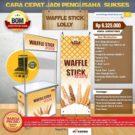 Paket Usaha Waffle Stick Lolly Program BOM