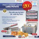 Jual Paket Mesin Long Potato Kentang Panjang di Bekasi