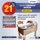 Jual Mesin Adonan Bakso (Fine Cutter) MKS-QW724 di Bekasi