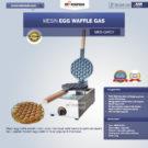 Jual Mesin Egg Waffle Gas (GW07) di Bekasi