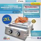 Jual Pemanggang Serbaguna – Gas BBQ Grill 2 Tungku di Bekasi