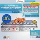 Jual Pemanggang Serbaguna – Gas BBQ Grill 8 Tungku di Bekasi