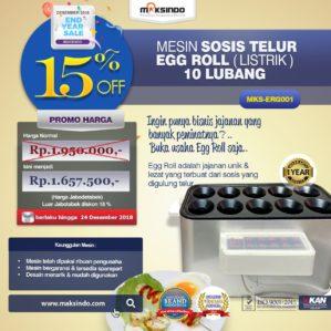 Jual HOT Sale Mesin Pembuat Egg Roll (Listrik) di Bekasi