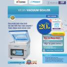 Jual Mesin Vacuum Sealer ( MSP-DZ260B) di Bekasi