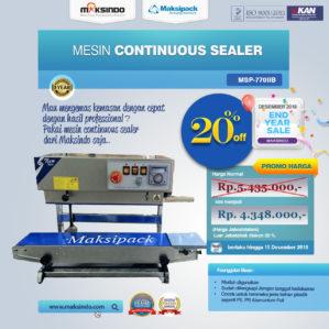 Jual Mesin Continuous Band Sealer MSP-770IIB di Bekasi