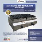Jual Mesin Gas Waffle Bentuk Hati 50 Lubang MKS-HSW50G di Bekasi