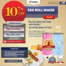 Jual Egg Roll Maker (ARD-303) di Bekasi