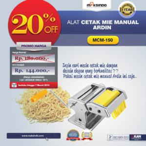 Jual Cetakan Mie Manual Rumah Tangga ARDIN di Bekasi