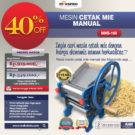 Jual Cetak Mie Manual Untuk Usaha (MKS-150) di Bekasi