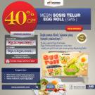 Jual Mesin Pembuat Egg Roll (Gas) MKS-ERG002 di Bekasi