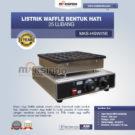 Jual Mesin Waffle Listrik Bentuk Hati 25 Lubang MKS-HSW25E di Bekasi
