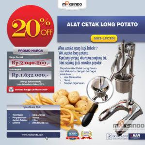 Jual Alat Cetak Long Potato MKS-LPCT50 di Bekasi