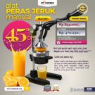Jual Alat Pemeras Jeruk Manual (MJ1001) di Bekasi