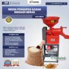 Jual Mesin Rice Huller Mini Pengupas Gabah – Beras AGR-RM40 di Bekasi