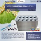 Jual Mesin Pembuat Egg Roll (Listrik) GRILLO-10SS di Bekasi