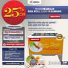 Jual Egg Roll Gas 10 Lubang GRILLO-GS10 di Bekasi