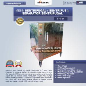 Jual Mesin Sentrifugal (Sentrifus), Separator Sentrifugal di Bekasi