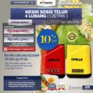 Jual Mesin Sosis Telur 4 Lubang Grillo-400 di Bekasi
