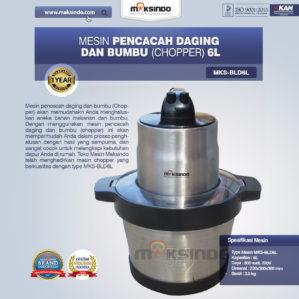 Jual Mesin Pencacah Daging dan BumbuMKS-BLD6L Di Bekasi