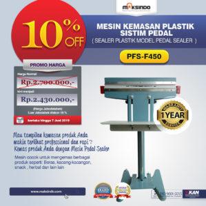 Jual Pedal Sealing Machine (PFS-F450) Di Bekasi