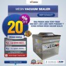 Jual Vacuum Sealer Double SealMSP-DZ400/2T di Bekasi