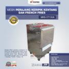 Jual Mesin Perajang Keripik Kentang dan French Fries – MKS-CT100A di Bekasih