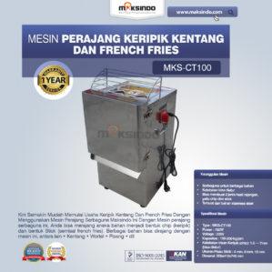 Jual Mesin Perajang Keripik Kentang dan French Fries – MKS-CT100 di Bekasi