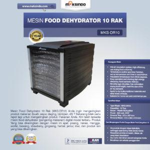 Jual Mesin Food Dehydrator 10 Rak (MKS-DR10) di Bekasi