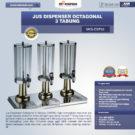 Jual Jus Dispenser Octagonal 3 Tabung  (DSP33) di Bekasi