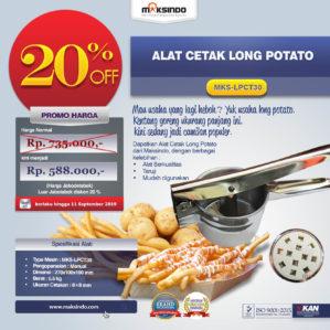 Jual Alat Cetak Long Potato MKS-LPCT30 di Bekasi