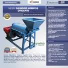 Jual Mesin Grinder Kompos Organik di Bekasi