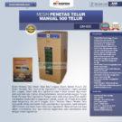 Jual Mesin Penetas Telur Manual 500 Telur (EM-500) di Bekasi