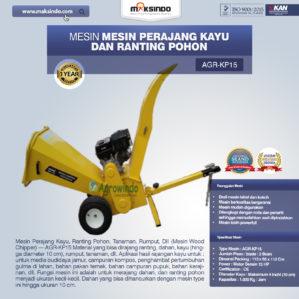 Jual Mesin Perajang Ranting Dan Kayu Basah – KP15 di Bekasi
