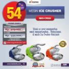 Jual Mesin Ice Crusher MKS-CRS20 di Bekasi
