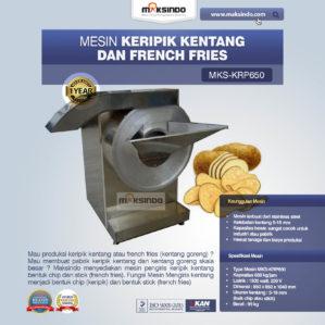 Jual Mesin Keripik Kentang dan French Fries KRP650 di Bekasi