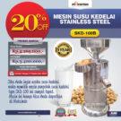 Jual Mesin Susu Kedelai Stainless (SKD-100B) di Bekasi