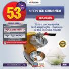 Jual Mesin Ice Crusher MKS-CRS30L di Bekasi