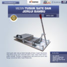 Jual Alat Tusuk Sate ManualMKS-099 di Bekasi