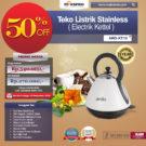 Jual Teko Listrik Stainless (Electrik Kettel) ARD-KT12 di Bekasi